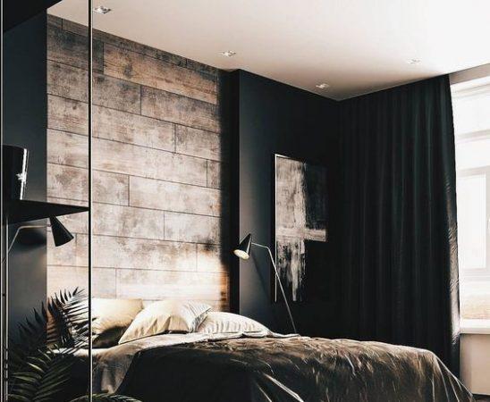 stijlvolle mannen slaapkamer