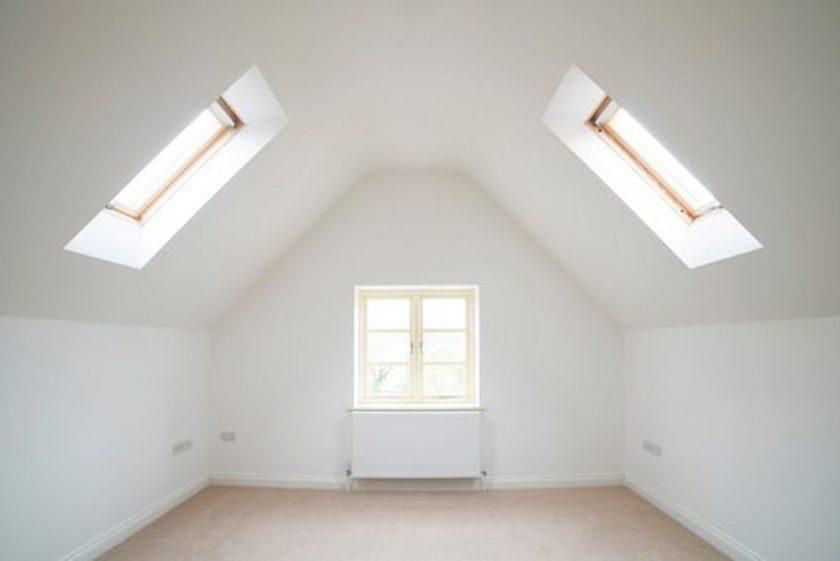 slaapkamer op zolder meer licht