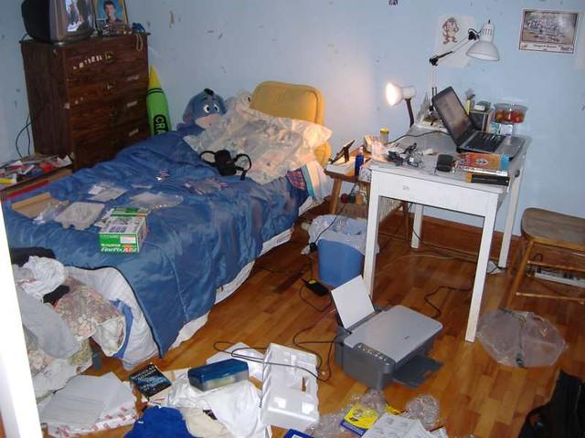 rommel slaapkamer