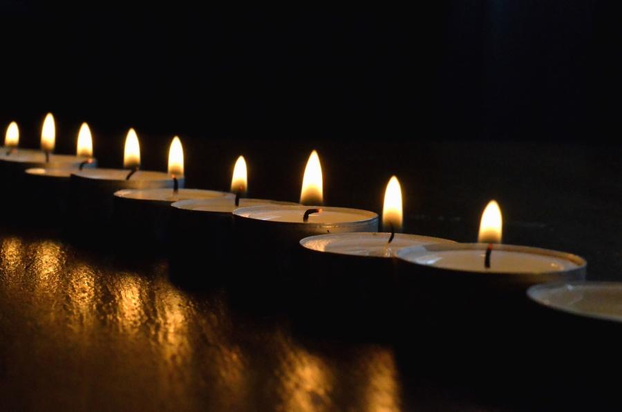 romantiek kaarsen