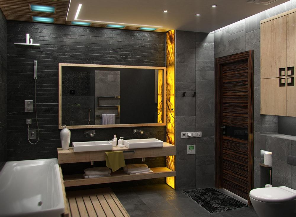 tips voor een stoere badkamer